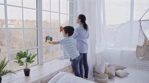 Joint Household Activity of Family with Kids