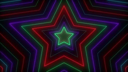Neon Star Hypnotize