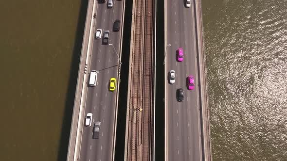 Thumbnail for Traffic On Busy Bridge