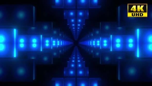 Thumbnail for 5 Blue Box Tunnel Pack 4k