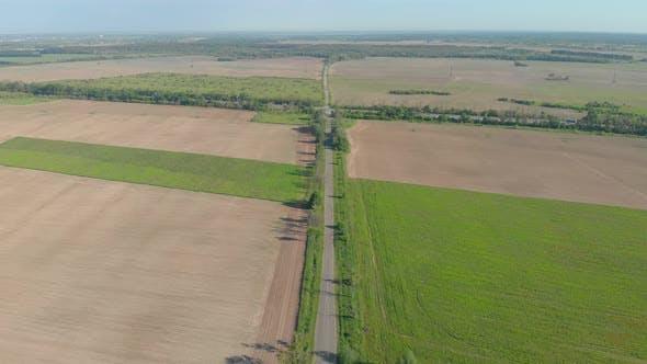 Suburb Highway Aerial