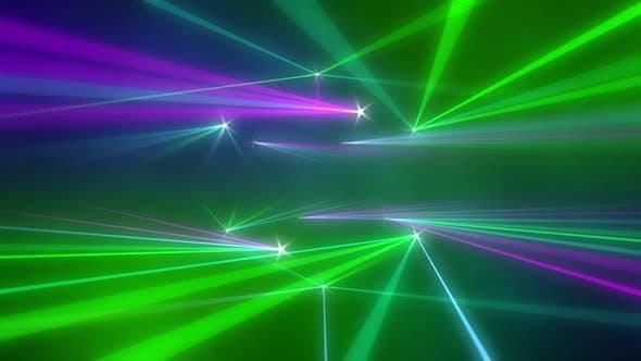 Concert Lasers Background 4K