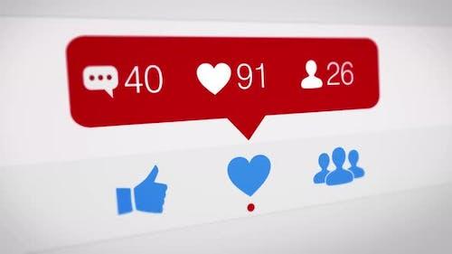 Social Media View-Zähler