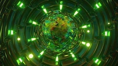Abstract Light Sphere
