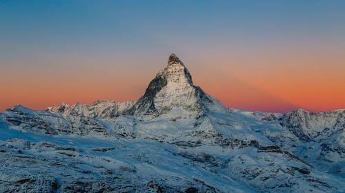 Sunrise timelapse Matterhorn Switzerland from Gornergrat