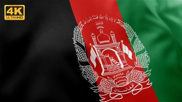 Afghanistan Flag - 4K