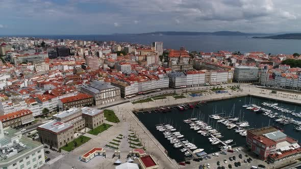 Thumbnail for The Wonderful City of Coruna in Spain