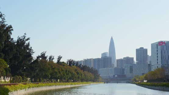 Thumbnail for Business district in Shenzhen