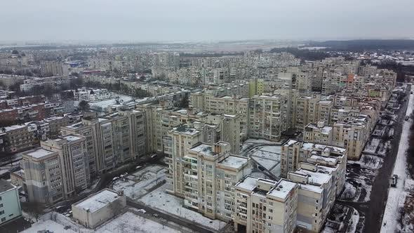 Thumbnail for Top View of the City Chervonograd, Ukraine