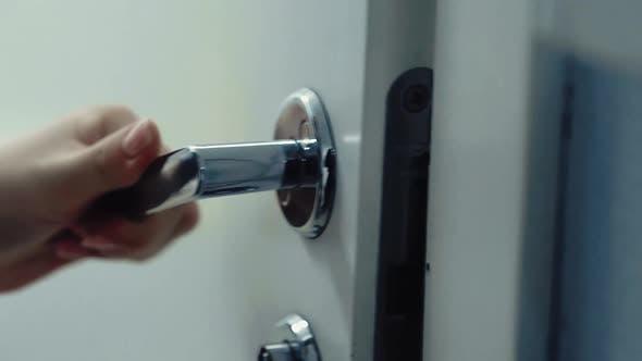 Thumbnail for Somebody Opens the Door with a Door Handle