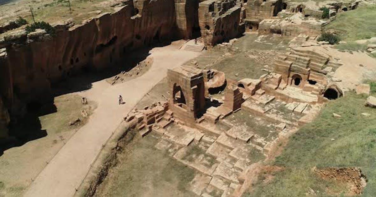 The Ancient City Of Dara Mardin