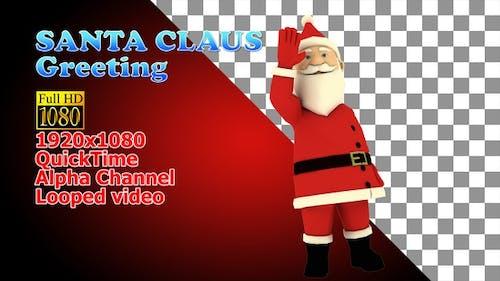 Santa Salut Christmas
