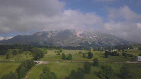 Thumbnail for Aerial View on Bobotov Kuk Near the Durmitor Park, Montenegro