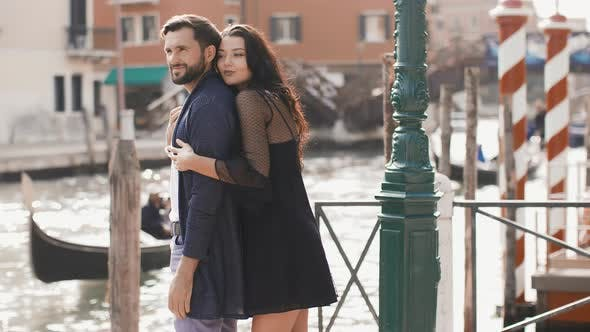 Thumbnail for Love - Romantic Couple in Venice, Italy
