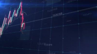 Stock Market Trading Screen Mockup