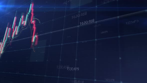 Thumbnail for Stock Market Trading Screen Mockup
