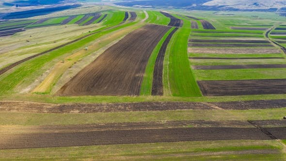 Thumbnail for Flying Above Agricultural Land
