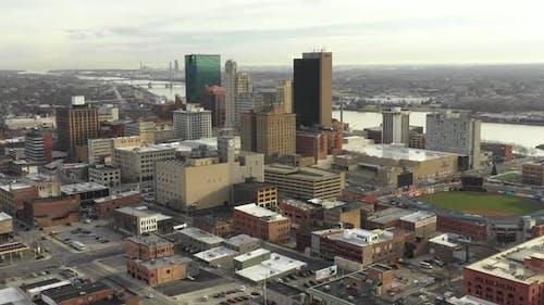 Innenstadt von Toledo Ohio