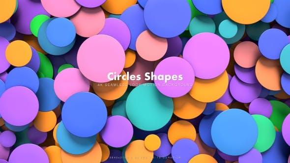 Thumbnail for Circles Shapes Motion 1