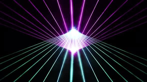 Laser Light Show 4K - Clip 05