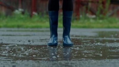 Jump in Puddles in Rubber Boots
