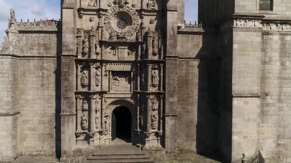 Thumbnail for Facade of Pontevedra Cathedral, Spain