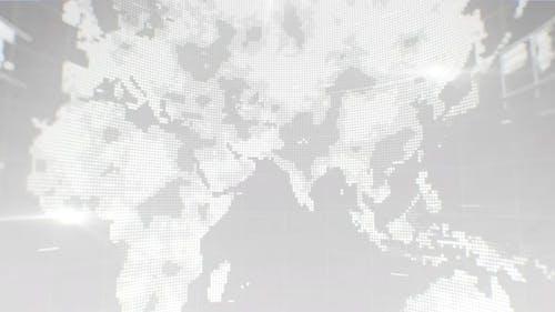 Map Monitor Screen