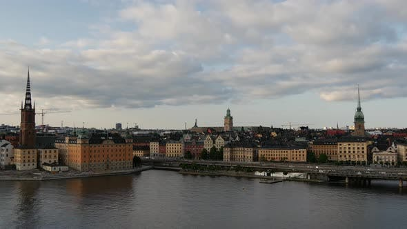 Thumbnail for Time lapse from Ridderholmen and Gamla Stan