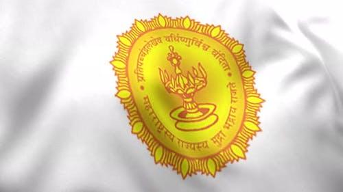 Maharashtra Flag (India) - 4K
