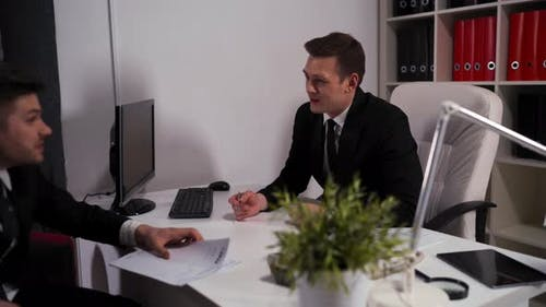 Client Reject Manager's Offer and Tears Up and Terminate the Contract