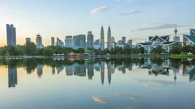 Dawn in Kuala Lumpur