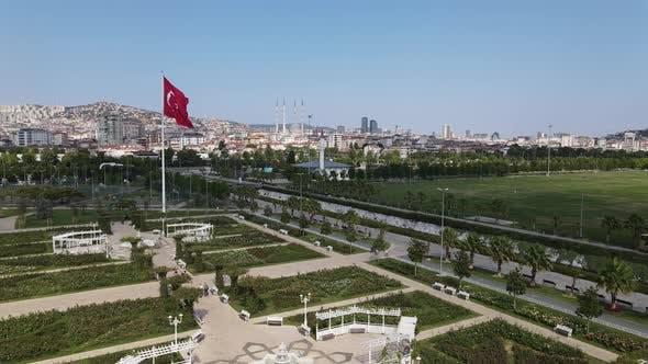 Turkish Symbol Flag