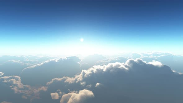 Thumbnail for Earth View Above The Cloud 03 4K