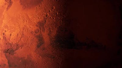 Looped Mars Surface Background