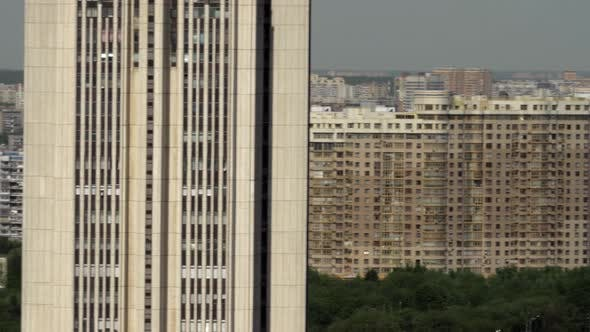 Thumbnail for Moscow Cityscape with Multistorey Apartment Blocks, Russia