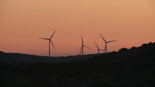 Windpower Sunset