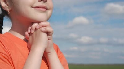 The Child is Praying
