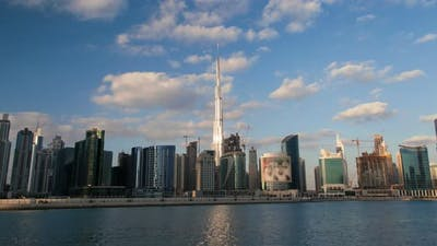 Hyperlapse Dubai time lapse