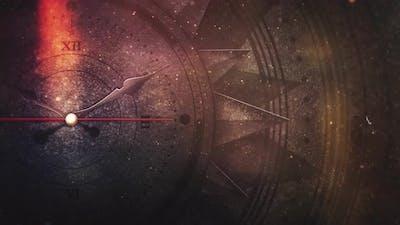 cinematic magic clock compass