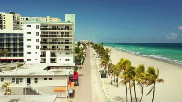 Thumbnail for Hollywood Beach boardwalk Florida USA