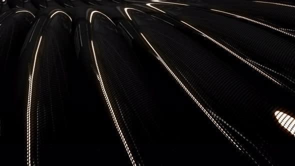 Black Carbon Fiber 4K