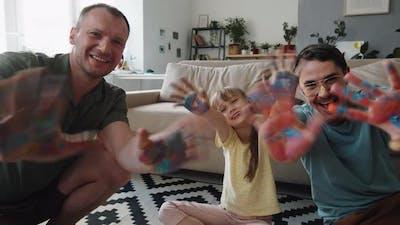 Creative Family Portrait