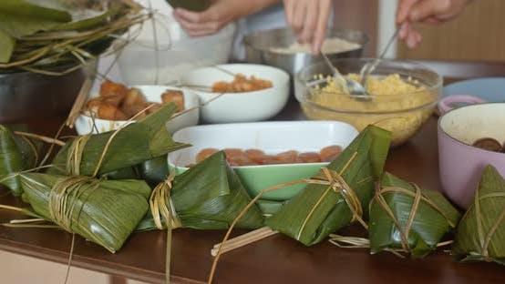 Cover Image for Homemade Rice Dumpling for Dragon Boat Festival