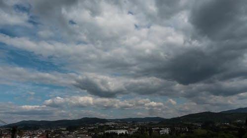 Blue Sky Clouds Timelapse