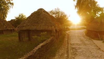 Houses of Medieval Village