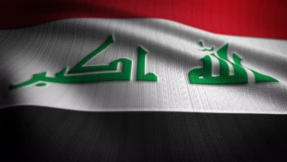 Thumbnail for Iraq Flag Seamless Loop