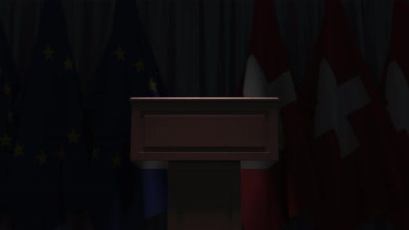 Thumbnail for Many Flags of Switzerland and the European Union