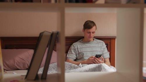 Man On Social Media