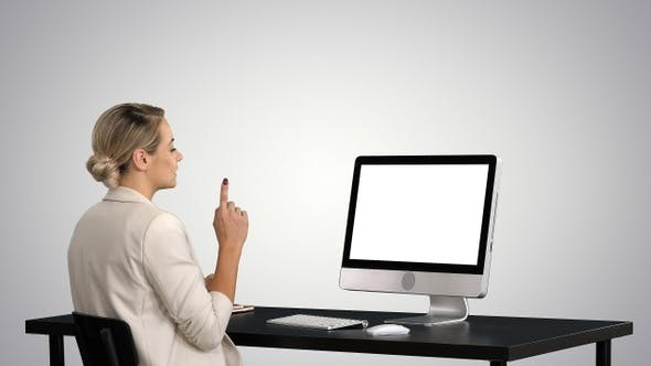 Thumbnail for Business video call businesswoman having videoconference