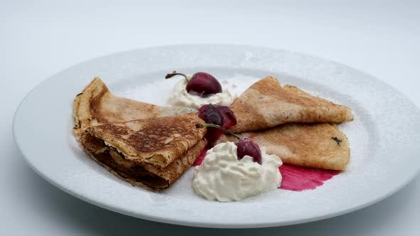 Thumbnail for Delicious Restaurant Food Pancakes